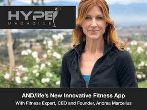 AND/Life's™ Andrea Marcellus On Her Innovative New Fitness App