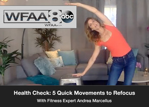Health Check: 5 Quick Movements to Refocus.