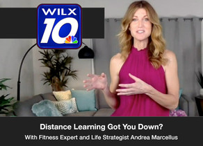 """Distance Learning Got You Down? Learn some """"quick-me-up"""" exercises!"""