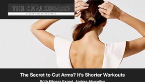 The Secret To Cut Arms? It's Shorter Workouts