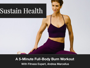 A 5-Minute Full-Body Burn Workout For Those Of You On Short Time