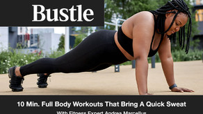 10-Minute Full-Body Workouts That Bring A Quick Sweat