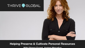 """""""Everything I do is about helping people preserve & cultivate their most precious personal resources"""