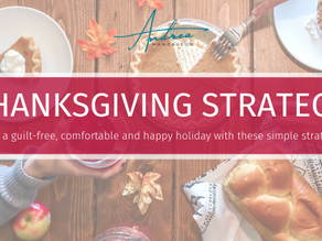 Thanksgiving Strategy: Enjoy a Guilt-Free, Comfortable and Happy Holiday w/ these Simple Strategies