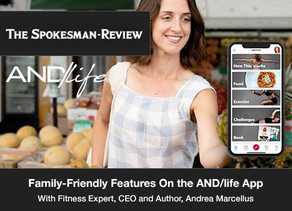 Family-friendly features on the AND/life™ app