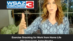 Exercise Snacking for Work from Home Life