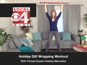 Holiday Gift Wrapping Workout