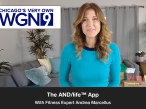 Discussing the AND/life™ App. Creating Your Own Workouts with AND/friends™.