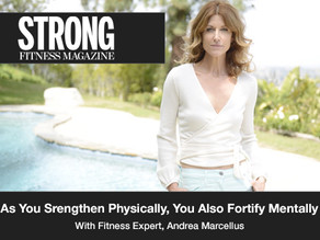 """As you strengthen physically, you also fortify yourself mentally."""