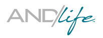 AND/life Logo Gray