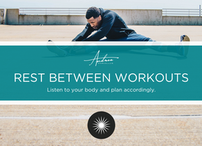 Andrea's Two Cents on Resting Between Workouts