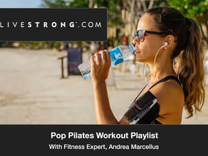 Pop Pilates Workout Playlist
