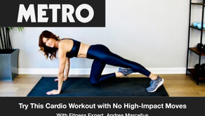 Try This Cardio Workout with No Jumping or High-Impact Moves