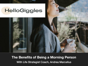 The Benefits of Being a Morning Person May Make You Reconsider Staying Up Late