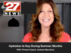 Hydration Is Key During Summer Months