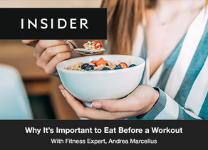 Why It's Important to Eat Before a Workout