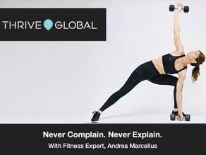 """Andrea Marcellus: """"Never complain. Never Explain"""""""