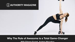 Fitness Expert Andrea Marcellus: Why The Rule of Awesome Is A Total Game-Changer