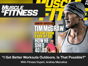 """""""I get better workouts outdoors. Is that possible?"""""""
