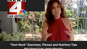 """""""Tech Neck"""" Exercises, Fitness and Nutrition Tips"""