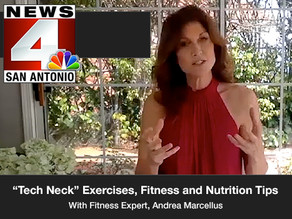 """Tech Neck"" Exercises, Fitness and Nutrition Tips"