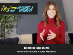 """Exercise Snacking"" with Andrea Marcellus"