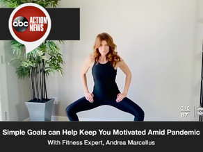 Fitness Expert says Simple Goals can Help Keep You Motivated, Feeling Better Amid Pandemic