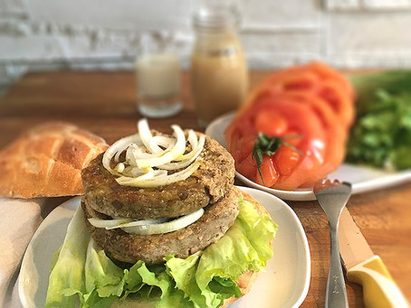 Hamburger Vegani – Veggie Burger