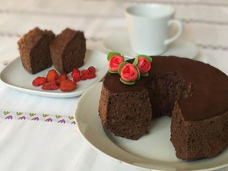 Angel Cake al cioccolato