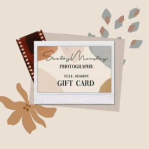 Full Session Gift Card - Digital