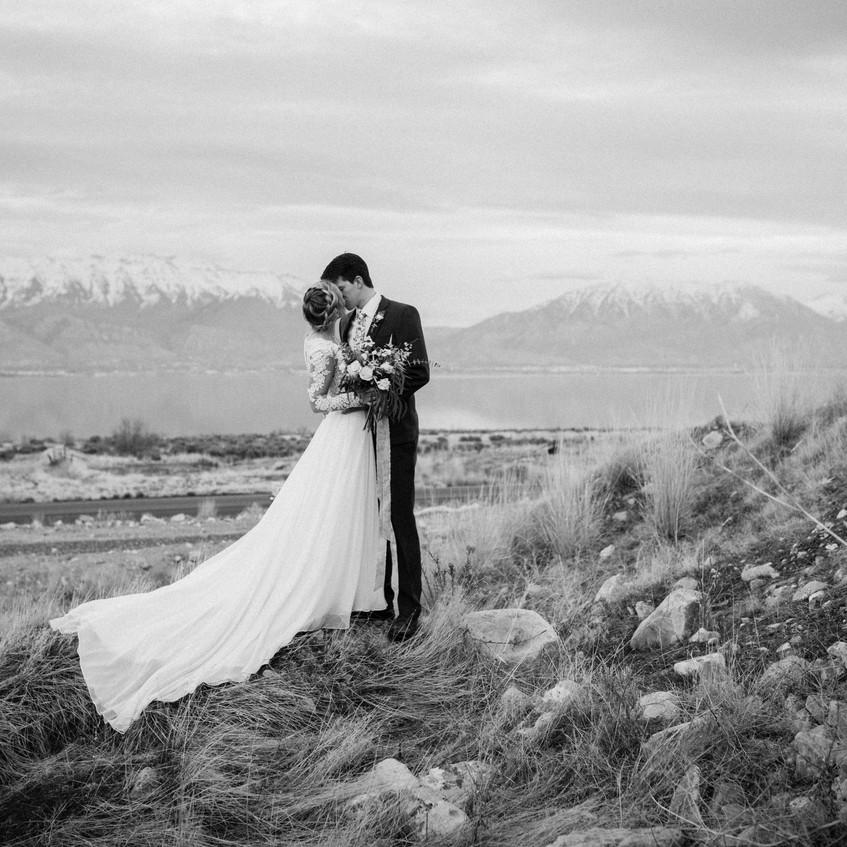 First Look Bridal Photos