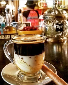 Cafe Bombon is a traditional Spanish cof