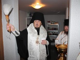 ЕПИСКОП ЛИВЕНСКИЙ И МАЛОАРАХНГЕЛЬСКИЙ НЕКТАРИЙ ПРИНЯЛ УЧАСТИЕ В ОТКРЫТИИ ЕПАРХИАЛЬНОГО СКЛАДА ГУМАНИ