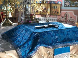Архиерейское Богослужение в храме Успения Пресвятой Богородицы с. Успенское