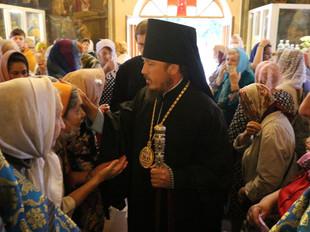 Архиерейское Богослужение накануне празднования Успения Божией Матери