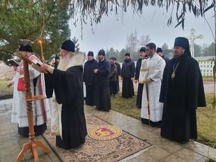 Владыка НЕКТАРИЙ помолился об упокоении души архиепископа Орловского и Ливенского Паисия