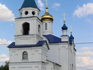 АРХИПАСТЫРСКОЕ БОГОСЛУЖЕНИЕ В ХРАМЕ КАЗАНСКОЙ ИКОНЫ БОЖИЕЙ МАТЕРИ С. ЯКОВЛЕВО