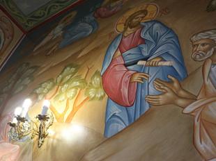 Архипастырское Богослужение в храме Успения Пресвятой Богородицы с. Теличье