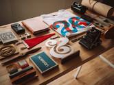 Graphic Design Workspace