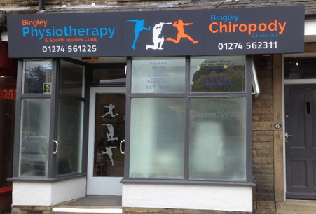 Bingley Physio Practice outside