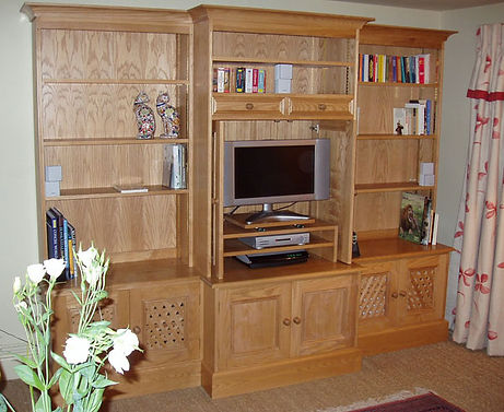 Bookcases and sideboard unit
