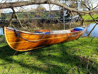 First paddle on the Nene this Year and I get on Yarwell Backwater.