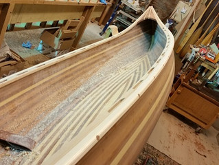 Peterborough's 10 and 11 or How I make my Canoes Part 6.
