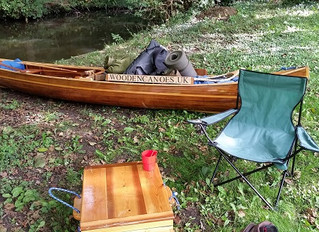 Paddling a heavily laden Canoe on the Caldon Canal with the sound of the Old West!