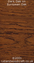 Dark Oak Stained European Oak
