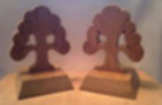 Hand carved awards