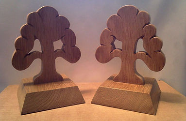Hand carved awards