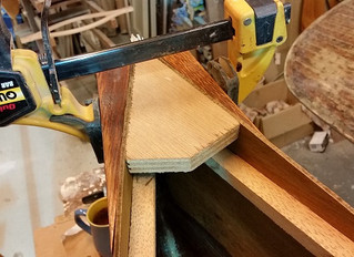 My First Stitch and Glue Canoe (Decks)