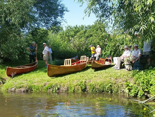 A Mention on Radio 2 for my paddle on the Rivers Thame and Thames with the T.T.B.S