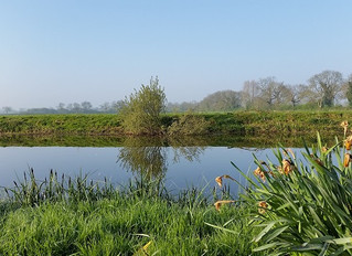 Further up the Nene with an overnight stop at Fotheringhay Castle. Day 2